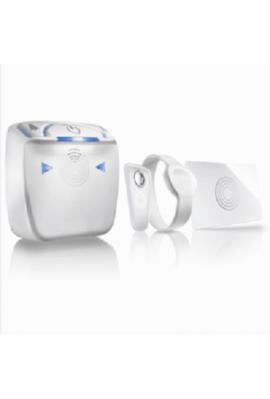 Somfy lecteur de badge pour serrure connectée Bluetooth RFID (so 2401399) Ouvre ou ferme la serrure connectée avec des badges, u