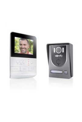 Somfy visiophone V100 Plug and Play (so 2401330)