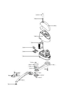 Somfy jeu de bras complet alu gris pour Axovia 220B (so 9019905)