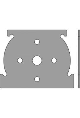 Somfy plaque pour caisson titan (so 9019521)