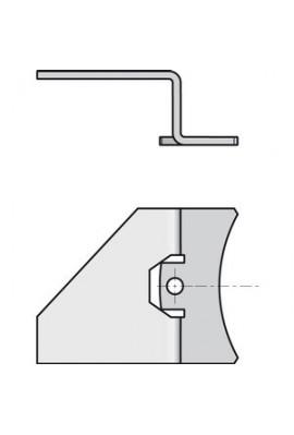 Somfy patte métallique pour module platine (x50) (so 9016964)