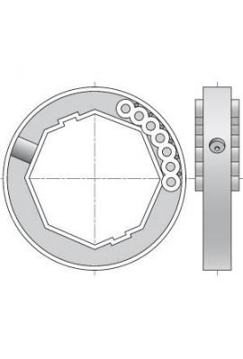 Somfy bague d'adaptation Blocksur tube octo 60 (so 1780117)