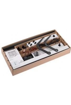 Somfy kit motorisation volet battant Yslo Flex RTS standard 2 vantaux carter et bras blancs (so 1240146) kit pret à poser pour u