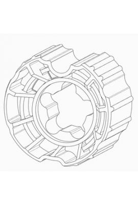 Somfy couronne LT60 rollerbat 80 (so 9019558)