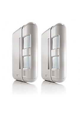 Somfy alarme : lot de 2 détecteurs de mouvement en façade (so 1875141)