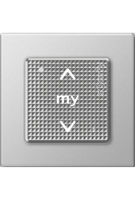 Somfy point de commande sensitif Smoove Origin RTS acier (so 2401103 so 1800433) une commande murale sans fil avec un design trè