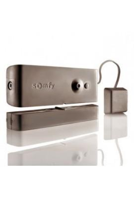 Somfy alarme : détecteur d'ouverture bris de vitre marron (so 1875059)