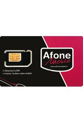 Somfy alarme : Carte SIM Afone France (so 2401454)