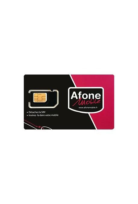Somfy alarme : Carte SIM Afone France (so 2401454)