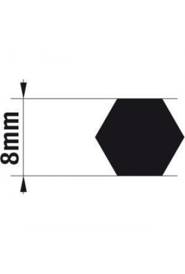 Somfy adaptateur axe J4 8 mm hexa (so 9014165)