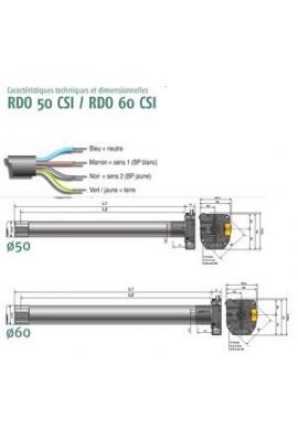 Somfy RDO 50 CSI 20/17 (so 1043353)