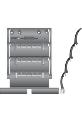 Somfy attache rigide de tablier de volet roulant ZF 3 maillon pour lames de 8 mm (so 9410796)