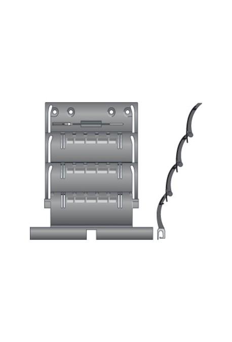 somfy attache rigide de tablier de volet roulant zf 3. Black Bedroom Furniture Sets. Home Design Ideas