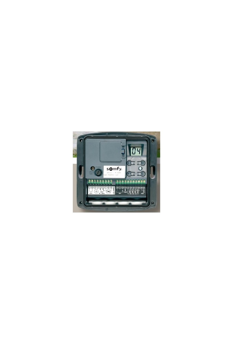 Somfy axroll ns rts so 1841034 expert domotique - Emetteur recepteur porte de garage ...