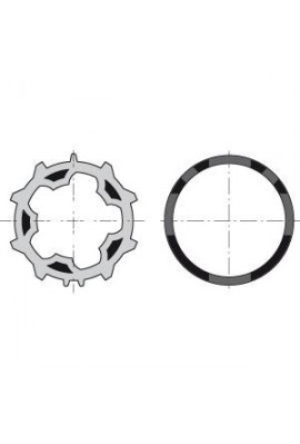 Somfy (x10) roues et (x10) couronnes ZF54 (so 9001466)