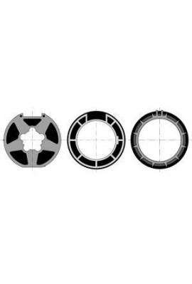 Somfy 1 roue + 2 couronnes LT 50 tube Deprat F 5039  89 (so 9001473)