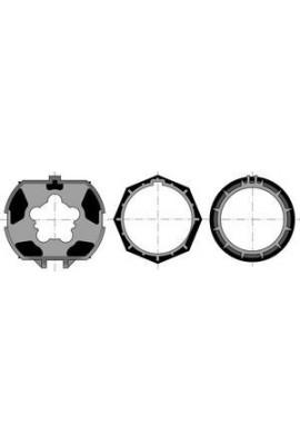 Somfy jeu LT 50 tube ZF 80 (SO 9001474) Jeu 1 roue + 2 couronnes pour moteur diamètre 50 de volet roulant pour intégration dans