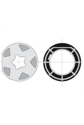 Somfy roue couronne LT 60 tube Mischler 100 tube 102x2 (so 9001502)