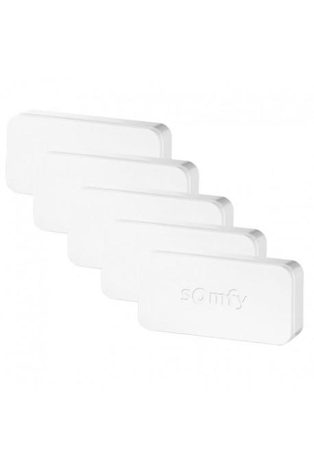 Somfy pack de 5 détecteurs de vibration et ouverture Intellitag (so 2401488) détecteurs anti-intrusion - compatibilité : Somfy o