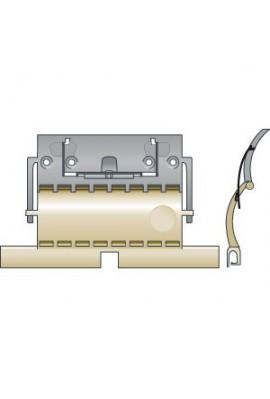 SOMFY Attache rigide de tablier de volet roulant CLICKSUR ZF 1 maillon pour lames de 8 mm (SO 9012484)