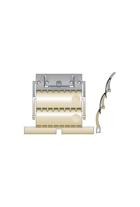 SOMFY Attache rigide de tablier de volet roulant CLICKSUR ZF 2 maillons pour lames de 14 mm (SO 9012488)