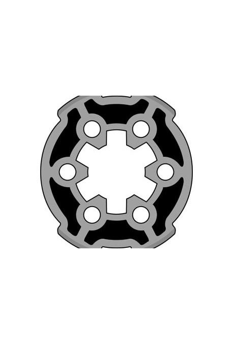 Somfy roue pour moteur diam.40 pour tube Soliso diam.44,5 (so 9013036)