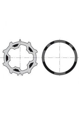 Somfy roue et couronne moteur diam 50 pour tube deprat 53 (so 9013091)
