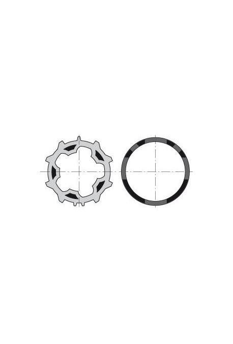Somfy (x10) Jeu roue et couronne Deprat 53 (so 9013092) Jeu roue et couronne pour moteur diamètre 50 pour intégration dans un tu