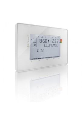 Somfy Thermostat programmable filaire contact sec (so 2401243) Compatibilité Somfy Box pour le pilotage à distance prévue avec l
