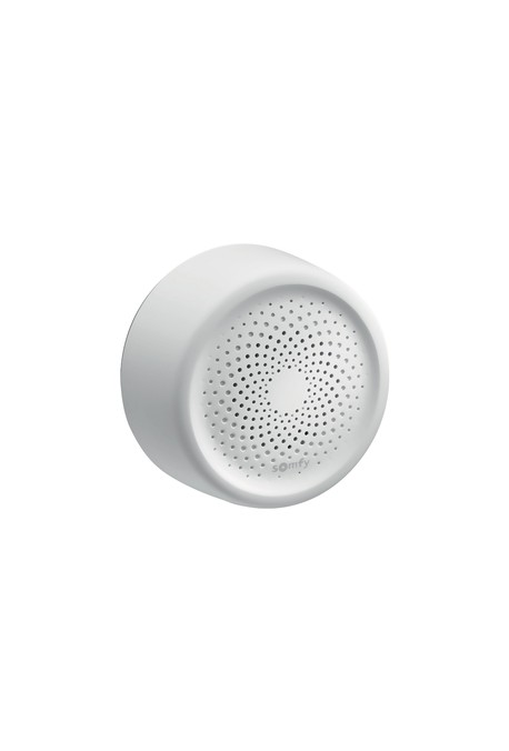 Somfy alarme : Sirène int blanche IO tahoma (so 2401453)