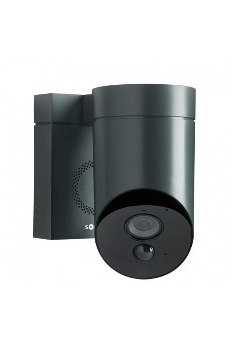 somfy cam ra outdoor ext rieure de surveillance grise so. Black Bedroom Furniture Sets. Home Design Ideas
