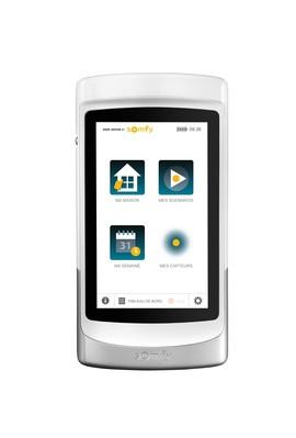 Somfy tablette tactile : Tahoma Pad io (1824029) télécommande pour piloter et gérer tous vos equipements motorisés et capteu