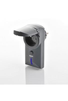 Somfy prise télécommandée extérieure RTS (so 2401093) permet d'allumer et éteindre un éclairage ou un appareil électrique qui se