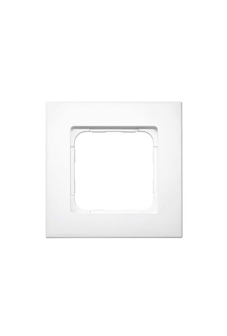 Somfy (x10) cadre Smoove blanc laqué (so 9015268)
