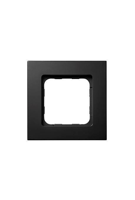 Somfy cadre Smoove noir mat (so 9015023) pour module de commande Smoove io et RTS