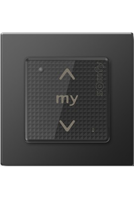 Somfy point de commande Smoove sensitif RTS noir (so 1800434)