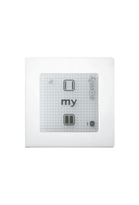 Somfy point de commande sensitif Smoove RTS 1 O/F blanc (so 1800443)
