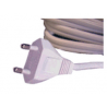 Somfy cable alimentation dénudé 2,5 m blanc (SO 9014005)