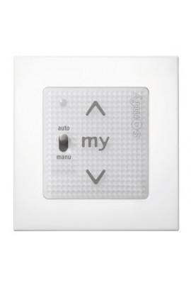 Point de commande Smoove Uno IO compatible blanc avec cadre (so 1811405)