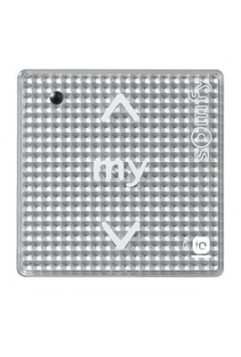 Somfy module Smoove sensitif IO acier (so 1811007) Commande murale radio IO bouton sensitif (à associer à un cadre) - prix dégre