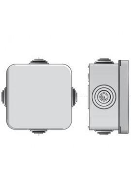 Somfy Boite de dérivation (so 9128088) Diamètre intérieur : 70 mm, avec domino de raccordement à 5 bornes.