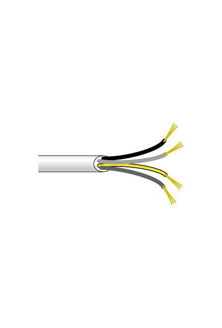 Somfy cable electrique blanc 0.75 m2 4 conducteurs 50 m (so 9128097)