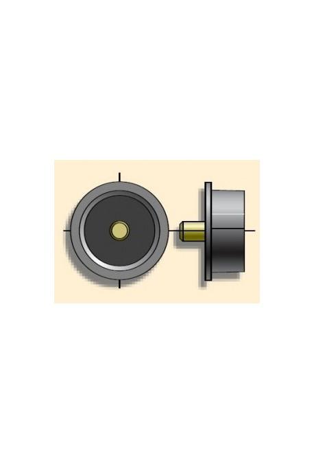 Somfy embout non réglable diam.50x1,5 tourillon diam.10 (so 9128101)