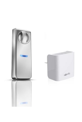 Somfy Pack serrure connectée pour porte classique jusqu'à 7 cm avec passerelle (so 1811699) Compatible TaHoma et Connexoon