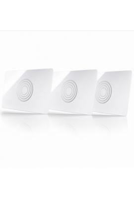 Somfy Lot de 3 cartes pour serrure connectée (so 2401401) Pilotez avec cartes, bracelets, badges votre serrure connectée