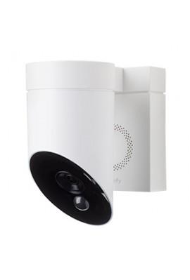 Caméra de surveillance extérieure blanche(so 1870346)