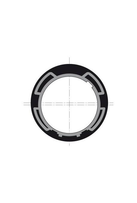 Somfy (x10) Couronne LT 50/60 ZF 80 (so 9128890) Adaptation pour moteur volet roulant diamètre 50 ou 60