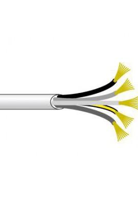 Somfy Câble électrique blanc 0,75 mm2 - 5 conducteurs - rouleau 50m (so 9129296)