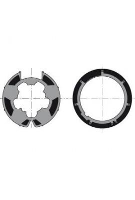 Somfy roue et couronne moteur 50 tube Deprat F2000 de 62 (so 9410307)