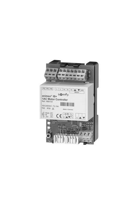 Somfy 1AC motor controller IB+ PCB DRM rail DIN (so 1860122)